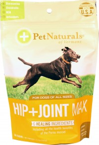Pet Naturals Of Vermont hip + joint max chew for dogs - 60 ct, 6 ea