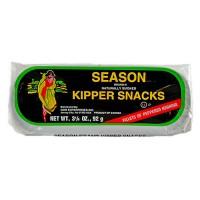 Season peppered kipper snacks - 3.25 oz, 24 pack