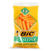 BIC single blade razor sensitive - 6 ea