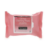 Neutrogena Oil-Free Cleansing Wipes, Pink Grapefruit - 25 ea