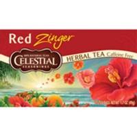 Celestial seasonings caffeine free red zinger natural herb tea - 20 bags