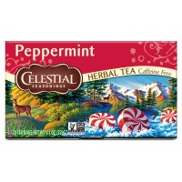 Celestial seasonings caffeine free peppermint natural herbal tea - 20 bags