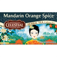 Celestial seasonings mandarin orange spice natural herbal tea, caffeine free - 20 ea