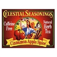 Celestial seasonings caffeine free cinnamon apple spice natural herbal tea - 20 bags,6 pack