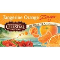 Celestial seasonings caffeine free tangerine orange zinger natural herbal tea - 20 bags