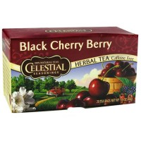 Celestial seasonings herb tea, black cherry berry - 20 tea bags