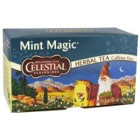 Celestial seasonings herb tea caffeine free, mint magic - 20 tea bags,6 packs