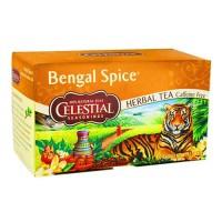 Celestial seasonings bengal spice herb tea, caffeine free - 20 tea bags,6 pack