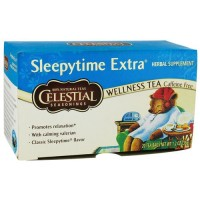 Celestial seasonings caffeine free herbal tea, sleepytime extra - 20 bags