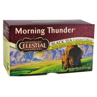Celestial seasonings morning thunder, black tea - 20 bags