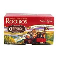 Celestial seasonings rooibos african red herbal tea bags, safari spice - 20 ea, 6 pack