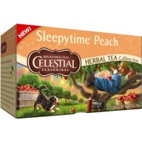 Celestial seasonings sleepytime peach herbal tea  20 ea ,6 pack