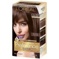 Loreal Superior Preference Permanent Hair Color, Dark Soft Mahogany Brown 4SM - 1 ea