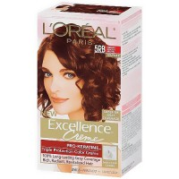 Loreal Excellence Creme, 5RB Medium Reddish Brown - 1 Ea