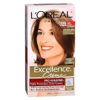 LOreal Excellence Triple Protection Hair Color Creme, 7BB Dark Beige Blonde - 1 EA