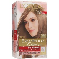 LOreal Excellence Creme, Hair Color, 7.5A Medium Ash Blonde - 1 ea