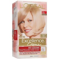 LOreal Excellence Triple Protection Hair Color Creme, 9 Natural Blonde - 1 EA