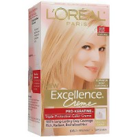 LOreal Excellence Triple Protection Hair Color Creme, 9.5NB Lightest Natural Blonde - 1 Ea