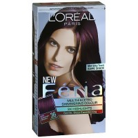 Loreal Feria multi faceted shimmering hair color, 36 chocolate cherry - 1 ea