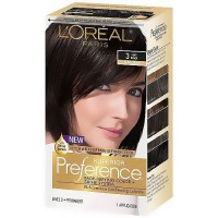 LOreal Superior Preference Hair Color, 3 Soft Black - 1 Ea