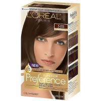 LOreal Superior Preference Hair Color, 5 Medium Brown - 1 Ea