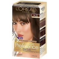 LOreal superior preference hair color, medium ash brown #5A - 1 ea
