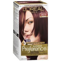 Loreal Superior Preference Hair Color, 5MB Medium Auburn, Warmer - 1 Ea