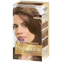 LOreal Superior Preference Hair Color, 6 Light Brown - 1Ea