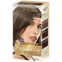 LOreal Superior Preference Hair Color, 6A Light Ash Brown - 1 Ea
