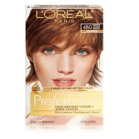 LOreal Preference Hair color, Lightest Golden Brown # 6.5G - 1 Ea