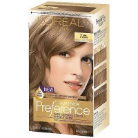 LOreal Superior preference hair color, #7 dark blonde - 1 ea