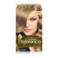 LOreal Superior Preference Hair color, 7A Dark Ash Blonde - 1 Ea
