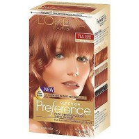 LOreal Superior Preference Hair Color, 7La Lightest Auburn - 1 Ea