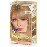 LOreal Superior Preference Hair Color, 8A Ash Blonde - 1 Ea