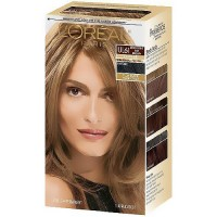 Loreal Preference les true brunettes ultra lightening hair color, ash brown - Kit