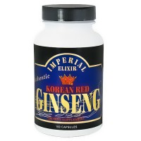 Imperial Elixir Korean red ginseng capsules - 100 ea