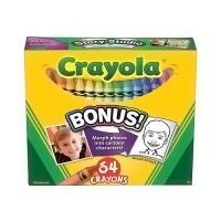 Crayola Nontoxic Crayons - 64 ea, 3pack