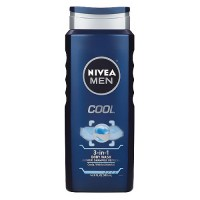 Nivea for Men Body Wash, Cool - 16.9 oz