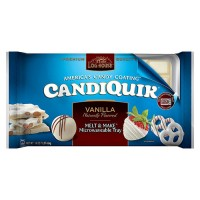 Log house candiquik vanilla - 16 oz, 12 pack