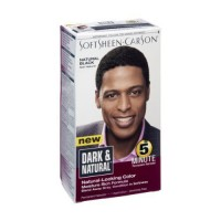 Dark and Natural Mens Permanent 5 Minute Hair Color Kit, Natural Black - 1 ea,3 pack
