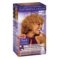 SoftSheen Carson Dark and Lovely Hair color #384 Light Golden Blonde - 1 Ea