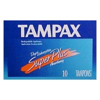 Tampax Tampons with Flushable Applicator, Regular Absorbancy - 10 each