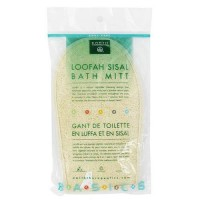 Earth Therapeutics Loofah sisal bath mitt - 1 ea