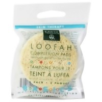 Earth Therapeutics Loofah Complexion 2 inches Scrub Discs - 3 ea, 12 pack