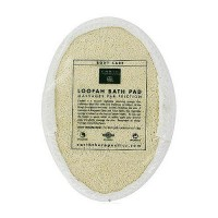 Earth Therapeutics loofah bath pad puff sponge - 1 ea
