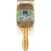 Earth Therapeutics Large Bamboo Lacquer Pin Paddle Brush - 1 ea