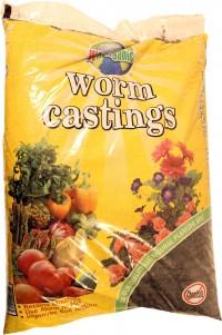 Wormganics wormganic worm castings - 1 cf, 1 ea