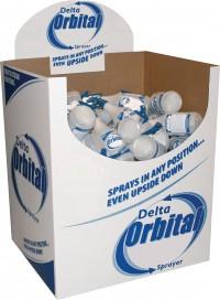 Delta Industries delta orbital sprayer dump bin display - 32 oz/90pc, 90 ea
