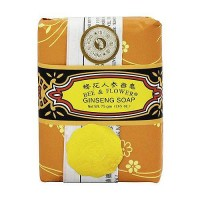 Bee and Flower Ginseng soap - 2.65 oz, 12 pack