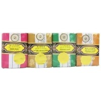 Bee and Flower Mixed bar soap gift pack 4 ea - 2.65 oz